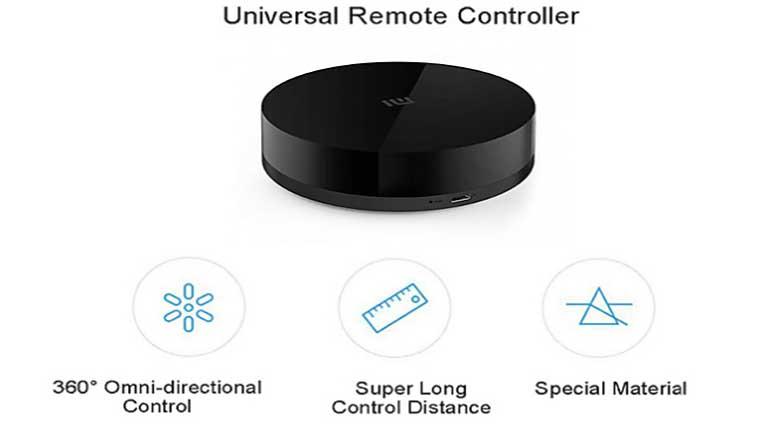Управляется Xiaomi Mi Universal Smart Remote