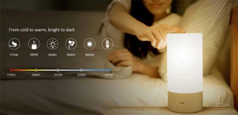 синхронизировать Xiaomi Mijia Bedside Lamp