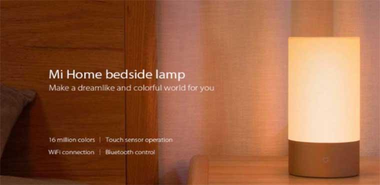 Возможности лампыXiaomi Mijia Bedside Lamp